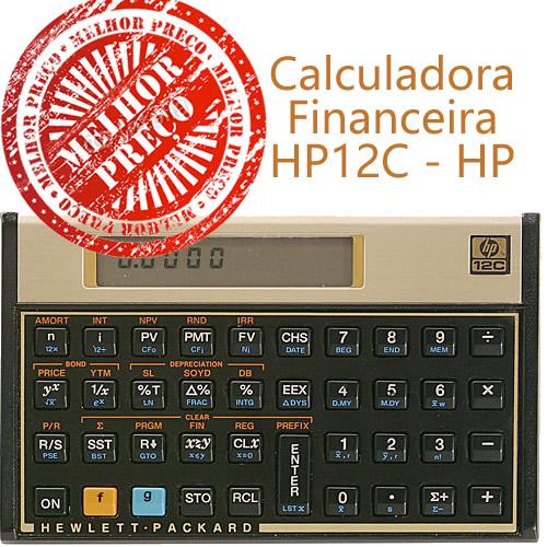 Confira os Melhores Preços da Calculadora 12C